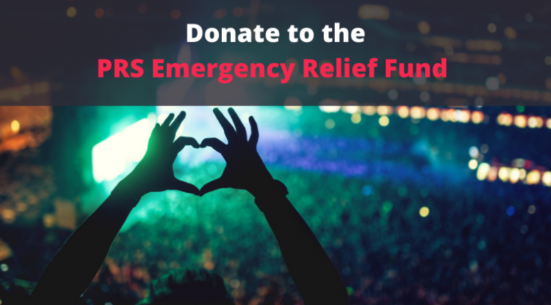 Donate to the PRS Emergency Relief Fund