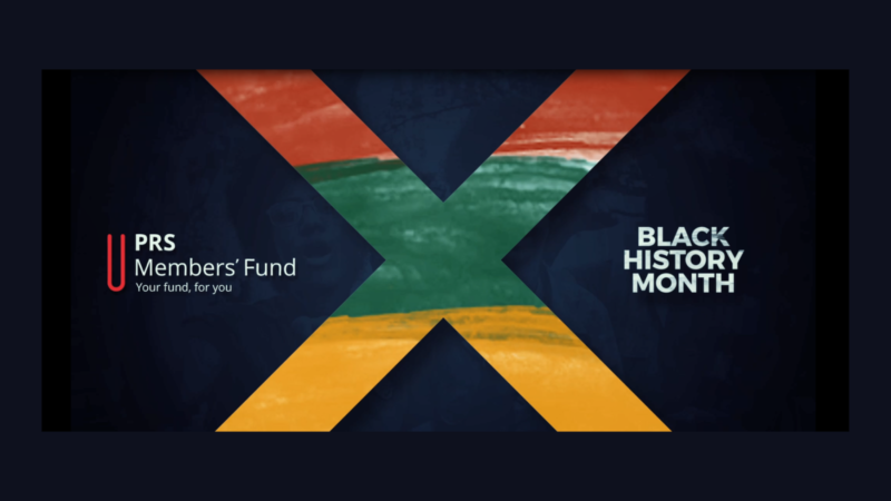 PRS Members' Fund X Black History Month